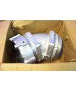 "nib Thomas and Betts 5350GR 4"" external bonding conduit connector 45 deg - $584.09"