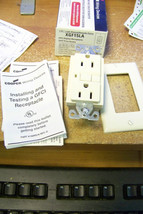 nib cooper wiring devices xgf15la gfci duplex r... - $14.84