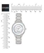 Citizen EM0380-81D Women's Watch Mother Of Pearl Dial New In Box Warranty - $207.88