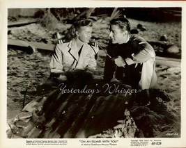 RARE Esther WILLIAMS Peter LAWFORD On an ISLAND with You Original 1948 P... - $19.99