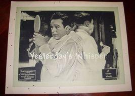 RARE Harry Langdon Mack Sennett Pathe Comedy Lobby Card - $149.99