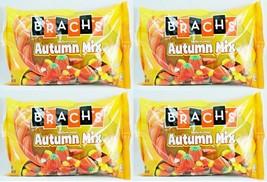 4x 20oz BAG BRACH'S AUTUMN MIX MELLOWCREME CANDY CORN PUMPKINS HARVEST corn NEW