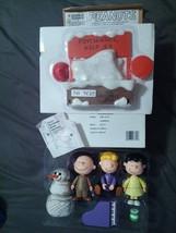 Peanuts Charlie Brown's Christmas Figure Collection Set Playing Mantis 2003 NIB - $93.05