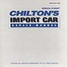 Chilton's Import Car Repair Manual, 1993-97 - Perennial Edition (7920) by - $7.91