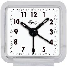 Equity by La Crosse 21038 Clear Quartz Alarm Clock - $22.17