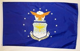 United States Air Force Nylon Flag 3' X 5' Indoor Outdoor Military Banner - $16.95