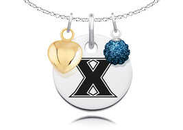 Xavier Musketeers Necklace with Charm Accents - $69.00