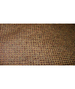Dark Brown Tweed Upholstery Fabric 1 YD  F778 - $19.95