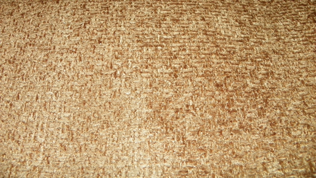 Goldish Brown Basket Weave Chenille Upholstery Fabric 1 Yard F746