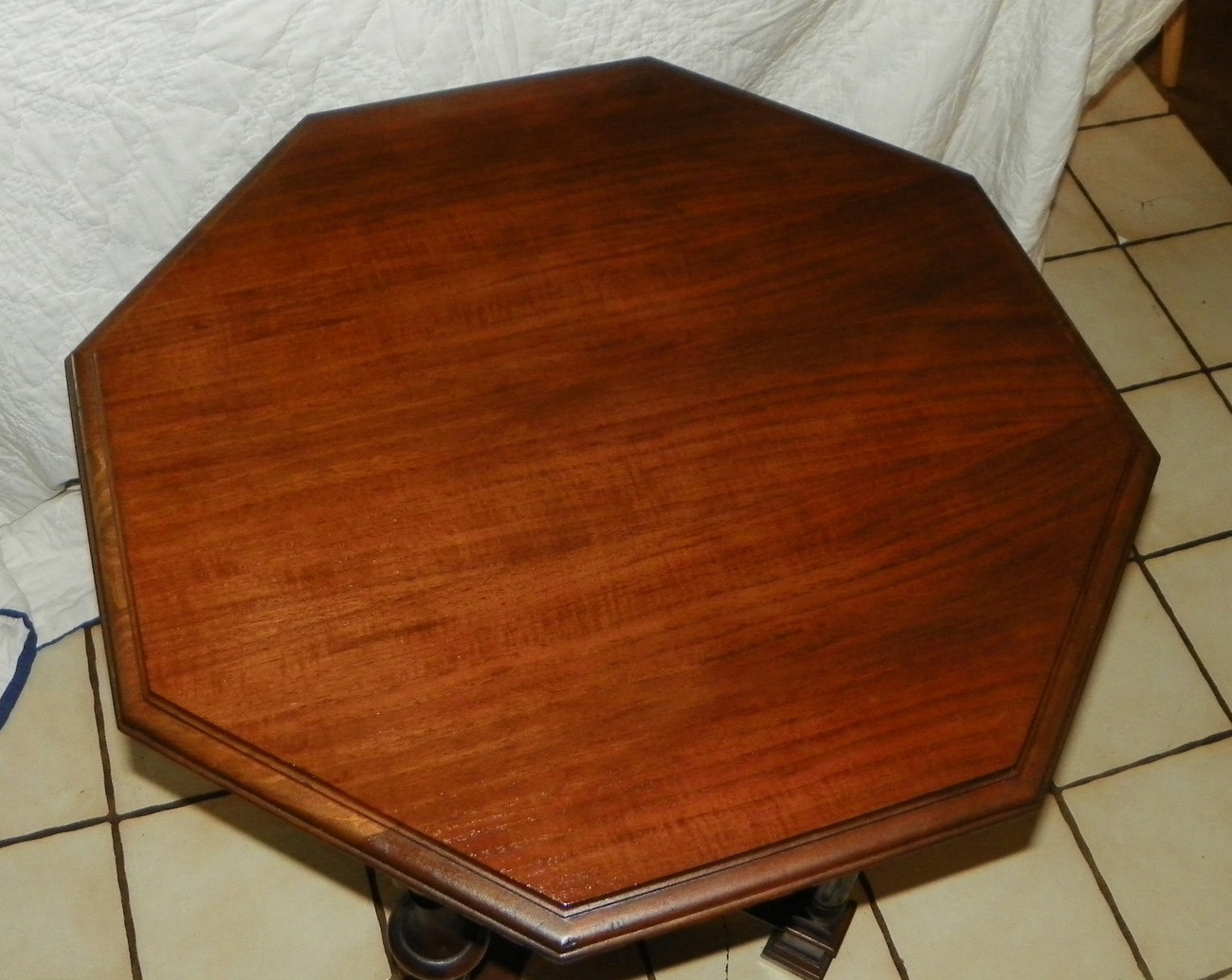 Gothic Walnut Parlor Table / Center Table