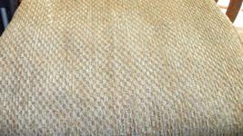 Greenish Beige Hobnail Chenille Upholstery Fabric 1 Yard F757 - $26.95