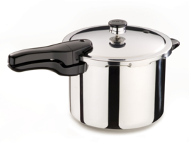 NEW Home Kitchen 6-Quart Stainless Steel Pressure Cooker Cooking Ease Cl... - €78,92 EUR