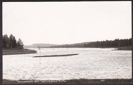 Gouldsboro Bay, Gouldsboro Maine RPPC #421 Photo Postcard - $10.75