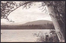 Kingfield Maine ca. 1920s RPPC Indian Pond Photo Postcard - $10.75
