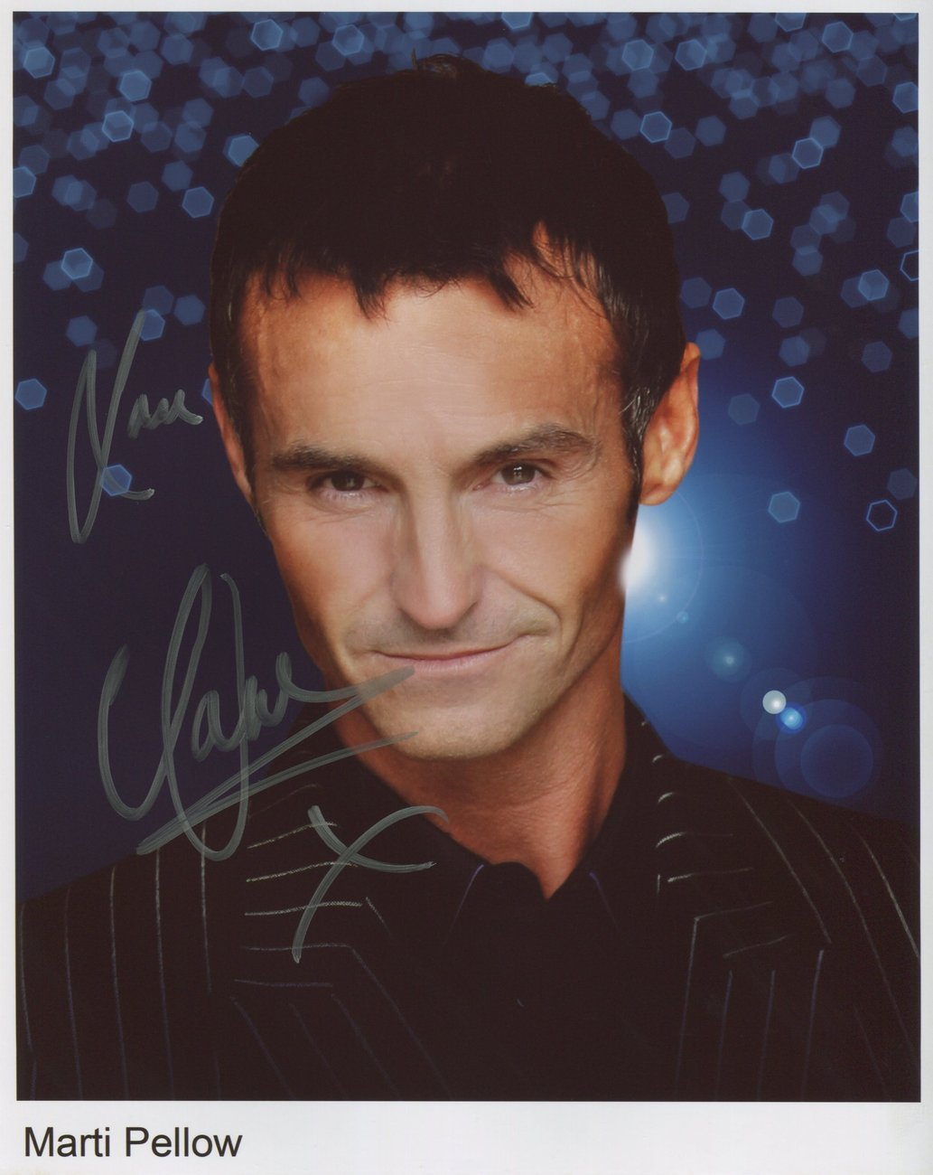 Marti Pellow SIGNED 8 x 10 Photo + COA 100% Genuine