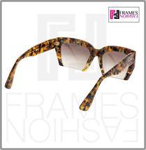 MIU MIU RASOIR 11O Square Sunglasses MAN-0A7 Caramel Marble Sunglasses MU11OS image 4