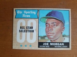 1968 Topps Baseball Card # 364 Joe Morgan Houston Astros All Star 2B HOF - $4.95