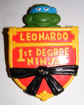 1989 Teenage Mutant Ninja Turtles Leonardo 1st Degre Ninja Burger King Promo (A) - $16.00