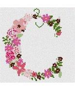 pepita The Letter C Flowering (Large) Needlepoint Canvas - $65.00