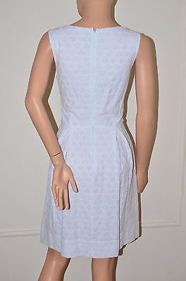 Miss Sixty M60 $128 White Eyelet Embroidered Dress White size 6 Medium M NEW