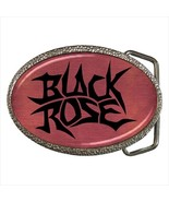 Black Rose Belt Buckle - $19.95