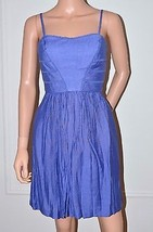 JESSICA SIMPSON $128 Blue Day Evening Sun Summer Dress size 6 Small S NEW  - $37.19