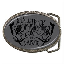 Bullet For My Valentine Belt Buckle - $19.95