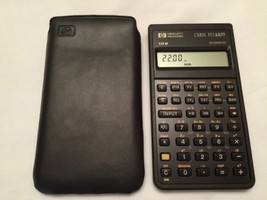 HEWLETT PACKARD  HP 10B  BUSINESS CALCULATOR  **WORKS*** SHIPS FAST! - $30.91
