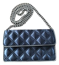 Jacobs By Marc Jacobs Silver-Chrome Quilted Chain Strap Shoulder Bag - ₹1,762.98 INR