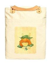 Vietsbay Kids Vintage Color 16 Leather Straps Printed Canvas Backpack WA... - £18.98 GBP