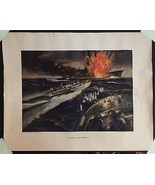 WWII POSTER Giant Killers ELCO PT - Gerald Leak... - $346.50