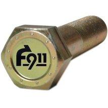 Super Heavy Duty F911 7/8-9 Coarse Thread Grade 9 Hex Bolt 3-1/2 Inches ... - $116.90