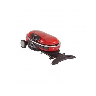 Portable Propane Grill Outdoor Camping Travel BBQ Gas Burner Cooking Coleman Red
