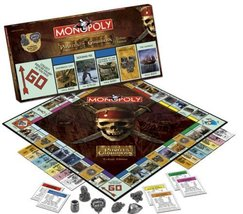 Usaopoly Pirates Of The Caribbean Trilogy Edition Monopoly - $17.64