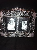 Mikasa Vintage Memories Duet Glass Picture Frame - $29.38