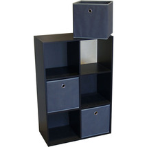 6 Cube Storage Cubby Accent Furniture Closet Organizer Cell Room Display... - $92.99