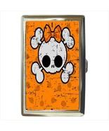 Girly Skull Cigarette Credit Card Case - $19.95