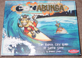 COWABUNGA CARD GAME SURFIN STEER 2007 PLAYROOM COMPLETE EXCELLENT - $15.00