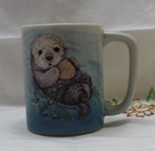 Vintage Otagiri Natures Endangered Collection Sea Otter Coffee Mug - $6.00