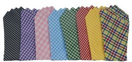 POCKET SQUARE...Gingham/Cotton...Venetian Collection - £7.29 GBP
