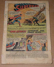 Superman Jimmy Olsen Comic Book Vintage 1964 - $9.99