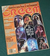 TALKING HEADS CHEAP TRICK CREEM MAGAZINE VINTAGE 1979 - $29.99