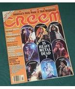 TALKING HEADS CHEAP TRICK CREEM MAGAZINE VINTAGE 1979 Heavy Metal Dead? - $29.99