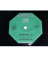 The Brothers Four Greenfields Angelique O 45 Rpm Record Coronet Label Au... - $24.99