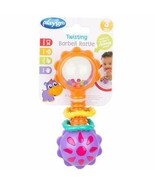 Baby Twisting Barbell Rattle Playgro For Baby Infants Textured Rings Bri... - $20.56