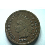 1870 INDIAN CENT PENNY VERY FINE VF NICE ORIGINAL COIN FROM BOBS COINS F... - $275.00