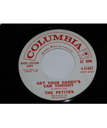 The Petites Get Your Daddy's Car Tonight Sun Showers 45 Rpm Record Vinyl... - $59.99