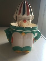 VTG ART DECO HARLEQUIN CLOWN PIERROT JUICER REAMER PITCHER JAPAN - $49.99