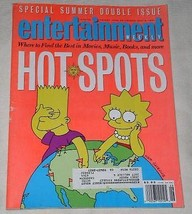 THE SIMPSONS ENTERTAINMENT WEEKLY MAGAZINE VINTAGE 1991 - $29.99