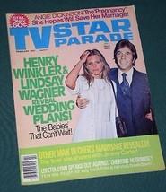 TV STAR PARADE MAGAZINE VINTAGE 1977 HENRY WINKLER FONZ - $29.99